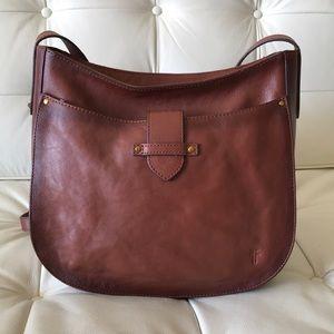 Frye Olivia Large Crossbody Leather Bag NWT